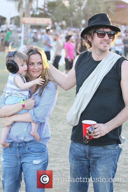 Alicia Silverstone, Christopher Jarecki and Coachella 9