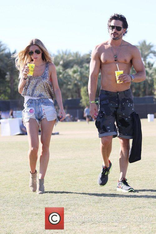 Joe Manganiello and Coachella 1