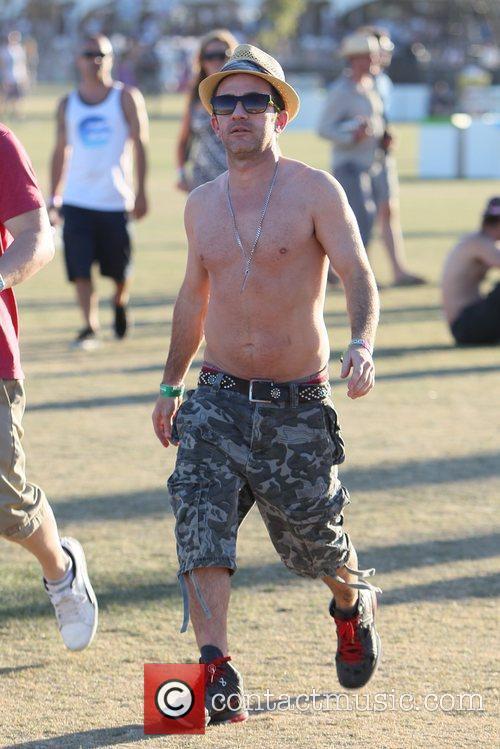 David Faustino Celebrities at the 2012 Coachella Valley...