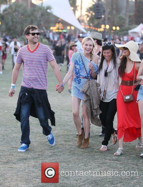 Diane Kruger, Joshua Jackson and Coachella 3