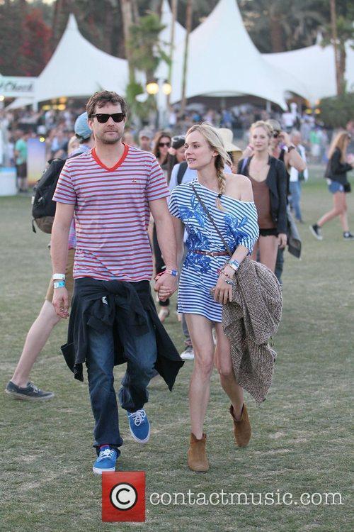 Diane Kruger, Joshua Jackson and Coachella 4