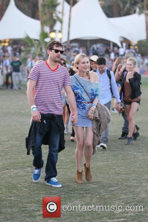 Diane Kruger, Joshua Jackson and Coachella 5
