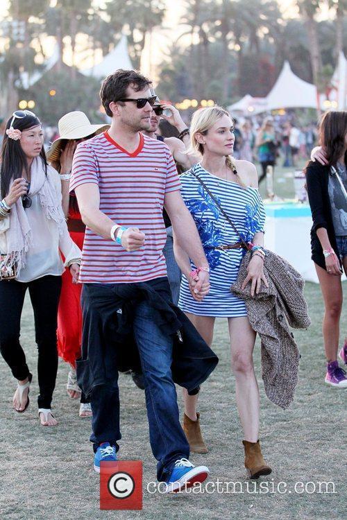 Diane Kruger, Joshua Jackson and Coachella 1