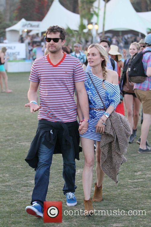 Diane Kruger, Joshua Jackson and Coachella 6