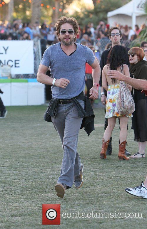 Gerard Butler and Coachella 2