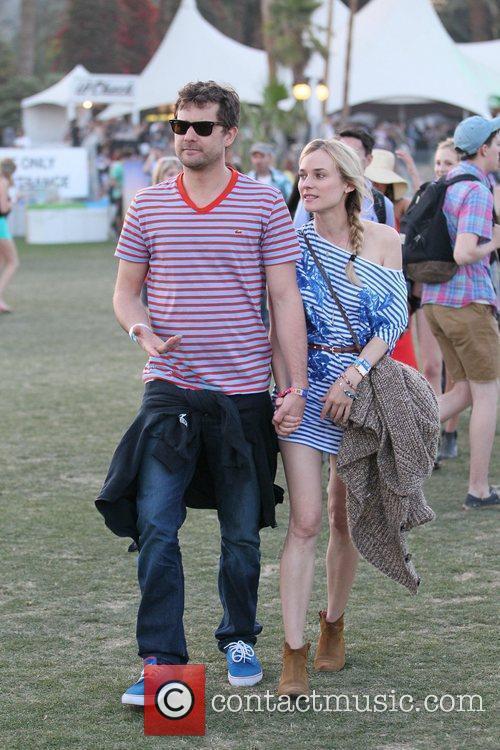 Lindsay Lohan  Celebrities at the 2012 Coachella...