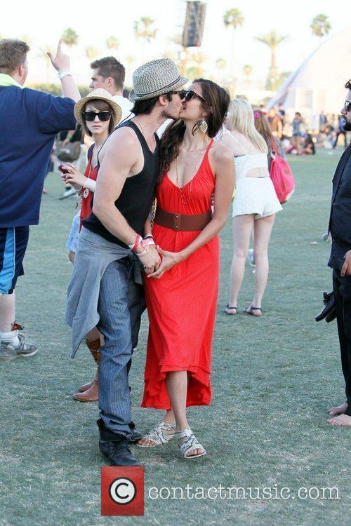 Nina Dobrev, Ian Somerhalder and Coachella 4