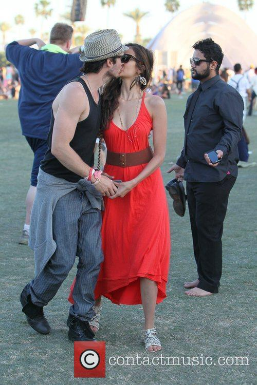 Nina Dobrev, Ian Somerhalder and Coachella 5