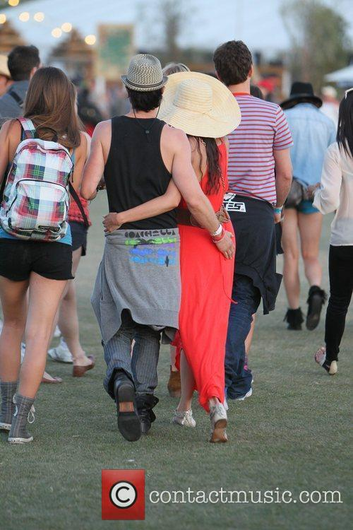 Nina Dobrev, Ian Somerhalder and Coachella 6