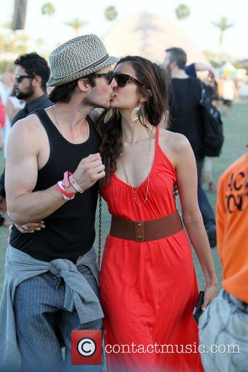 Nina Dobrev, Ian Somerhalder and Coachella 7