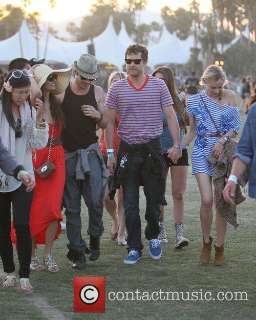 Nina Dobrev, Diane Kruger, Ian Somerhalder, Joshua Jackson and Coachella 2