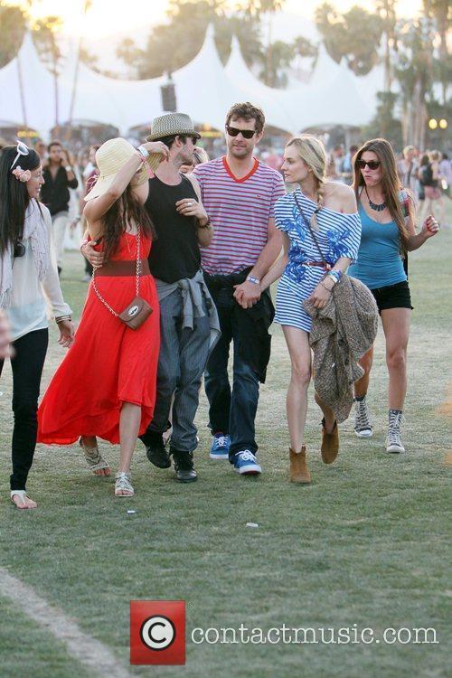 Nina Dobrev, Diane Kruger, Ian Somerhalder, Joshua Jackson and Coachella 3