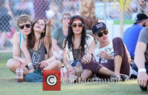 Vanessa Hudgens, Austin Butler and Coachella 5