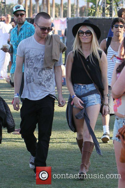 Aaron Paul and Coachella 2