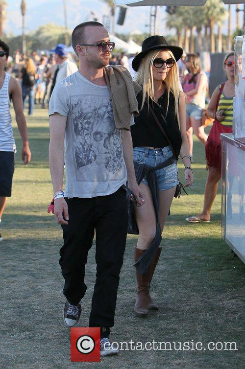 Aaron Paul and Coachella 3