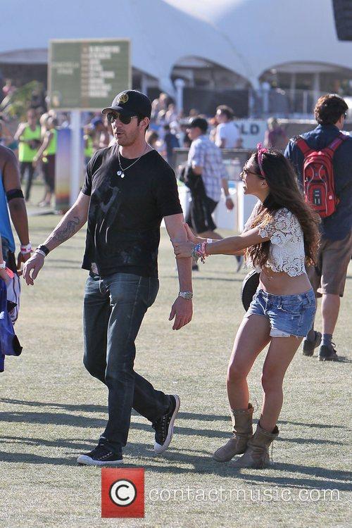 Dylan Mcdermott and Coachella 1