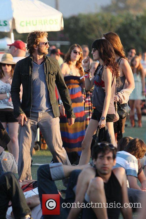 Gerard Butler and Coachella 6