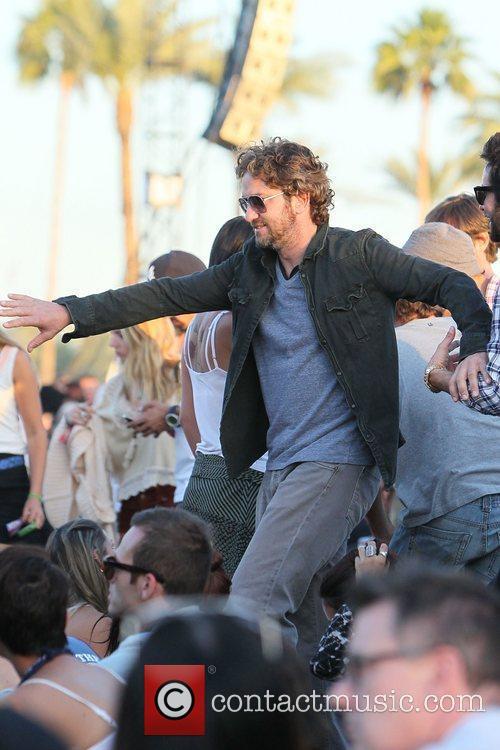 Gerard Butler and Coachella 8