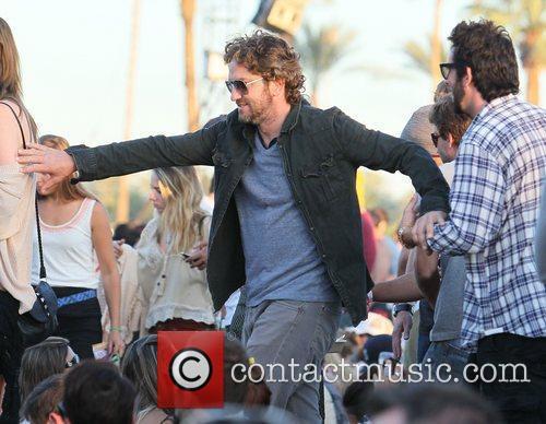 Gerard Butler and Coachella 1