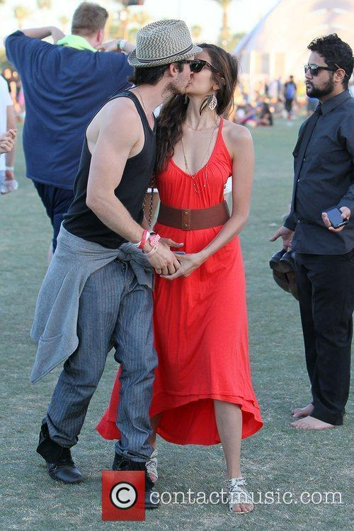 Nina Dobrev, Ian Somerhalder and Coachella 8