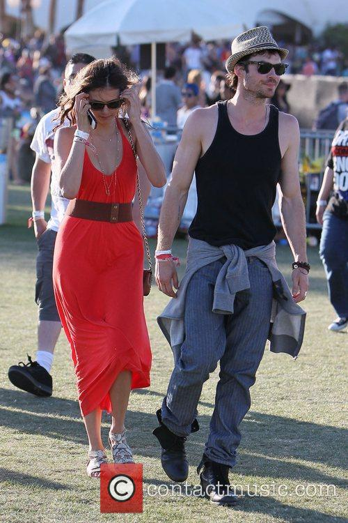 Nina Dobrev, Ian Somerhalder and Coachella 9