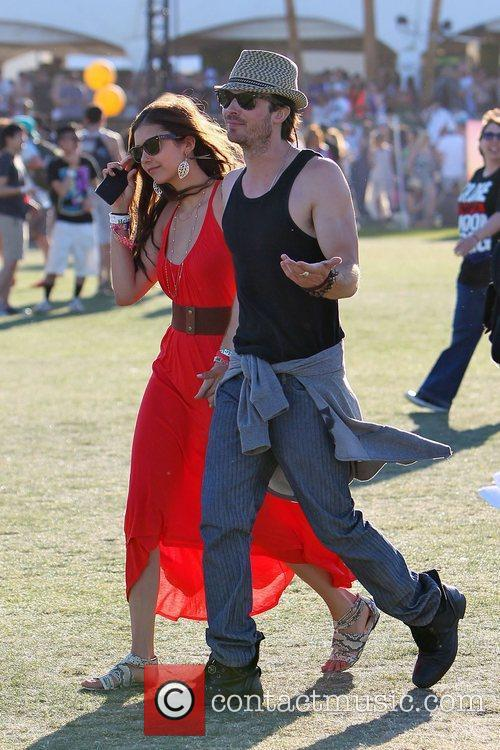 Nina Dobrev, Ian Somerhalder and Coachella 11