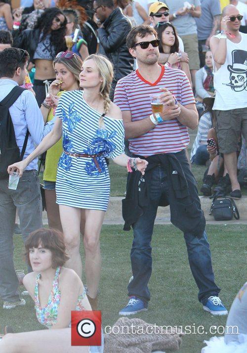 Diane Kruger, Joshua Jackson and Coachella 7