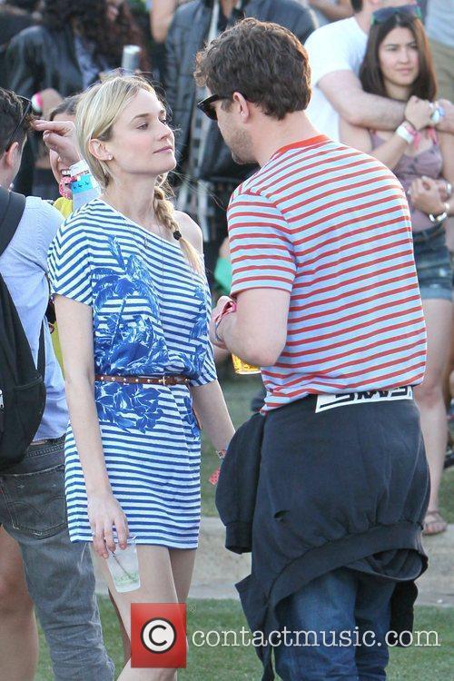 Diane Kruger, Joshua Jackson and Coachella 9
