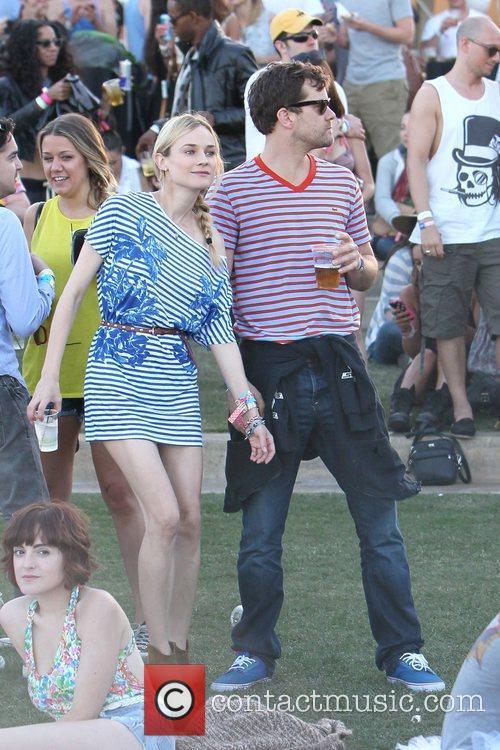 Diane Kruger, Joshua Jackson and Coachella 10