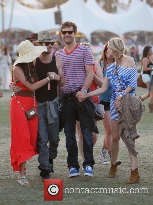 Ian Somerhalder, Diane Kruger, Joshua Jackson, Nina Dobrev and Coachella 2