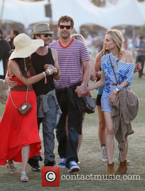 Ian Somerhalder, Diane Kruger, Joshua Jackson, Nina Dobrev and Coachella 3