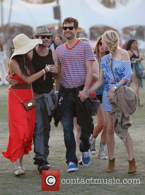 Ian Somerhalder, Diane Kruger, Joshua Jackson, Nina Dobrev and Coachella 1
