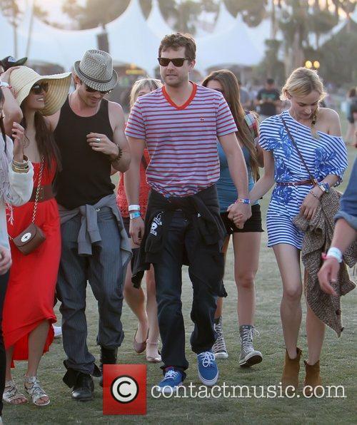 Ian Somerhalder, Diane Kruger, Joshua Jackson, Nina Dobrev and Coachella 4