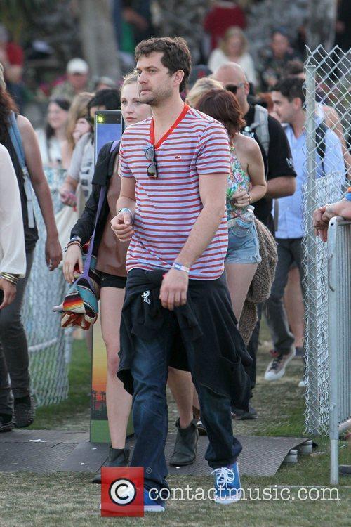 Joshua Jackson  Celebrities at the 2012 Coachella...