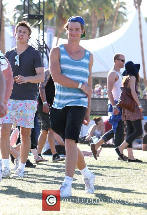 Patrick Schwarzenegger and Coachella 2