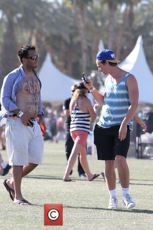 Patrick Schwarzenegger and Coachella 4