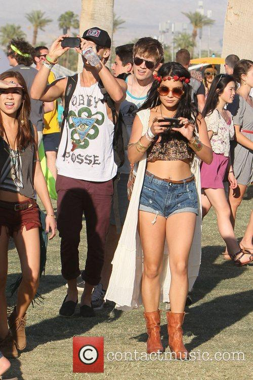 Vanessa Hudgens, Austin Butler and Coachella 1