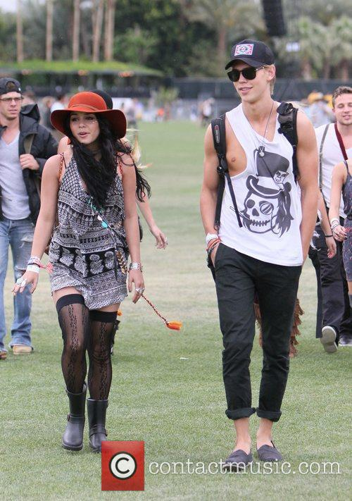 Vanessa Hudgens, Austin Butler and Coachella 4