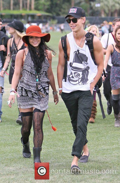 Vanessa Hudgens, Austin Butler and Coachella 7