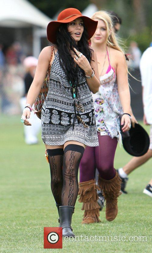 Vanessa Hudgens and Coachella 2