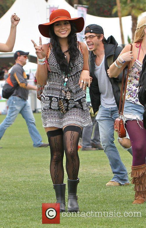 Vanessa Hudgens and Coachella 5