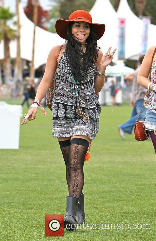 Vanessa Hudgens and Coachella 7
