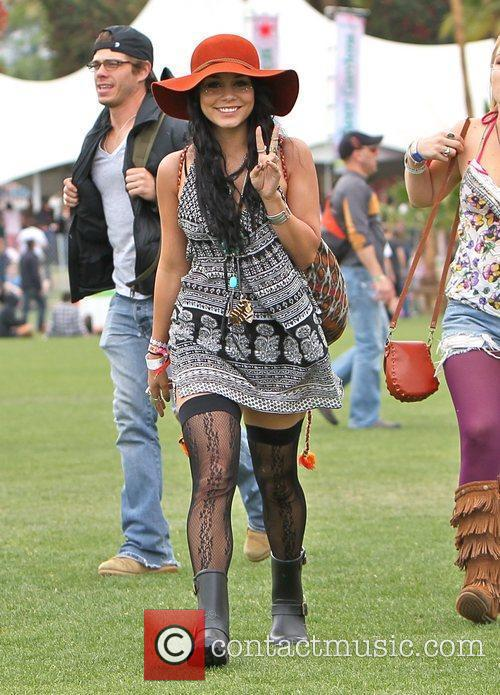 Vanessa Hudgens and Coachella 8