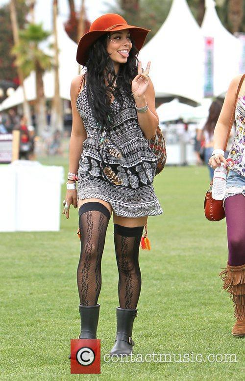 Vanessa Hudgens and Coachella 1
