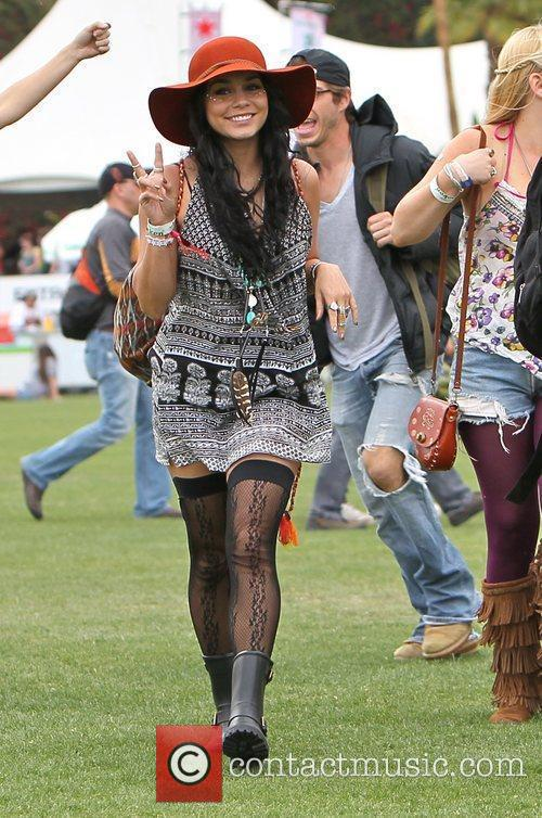 Vanessa Hudgens and Coachella 11