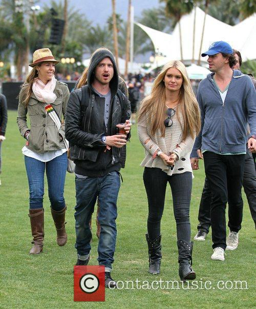 Aaron Paul and Coachella 4