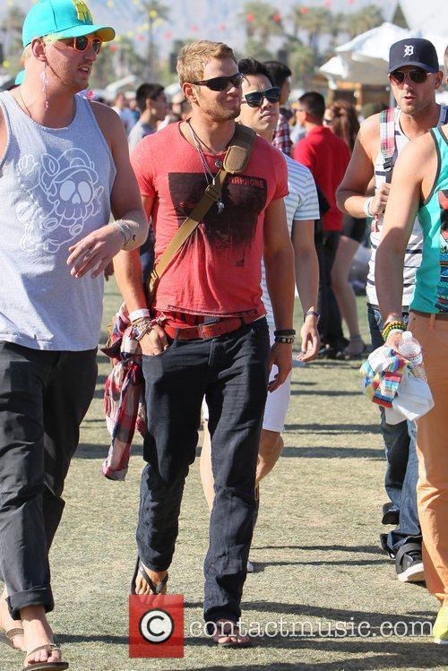 Kellan Lutz and Coachella 2