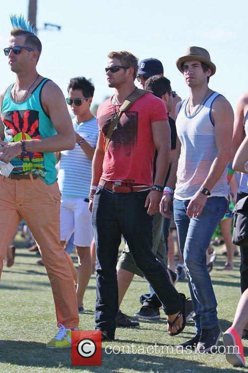 Kellan Lutz and Coachella 8