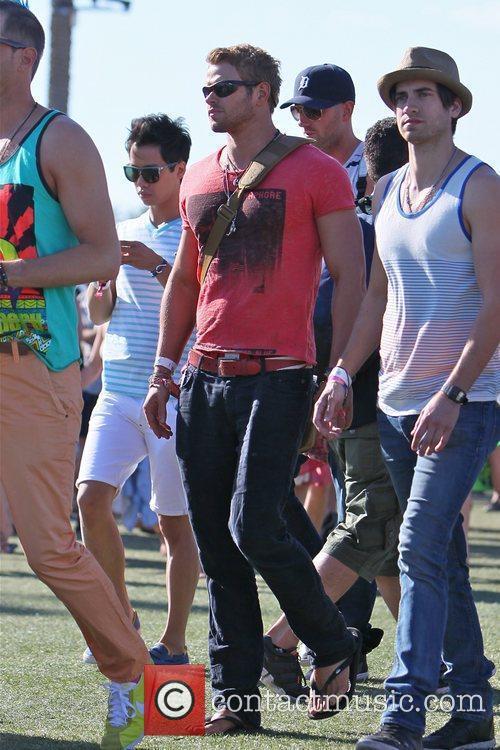 Kellan Lutz and Coachella 9