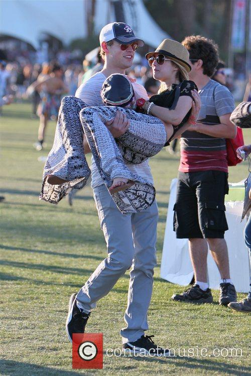 Chord Overstreet, Emma Roberts and Coachella 2